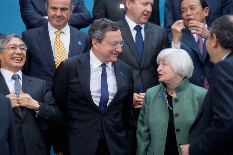 Jannet Yellen and Mario Draghi