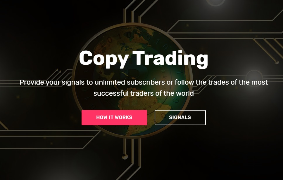 copy trading sevice