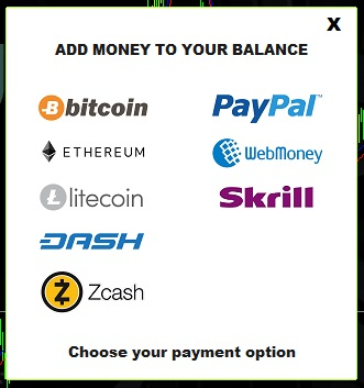 xentrader payment methods